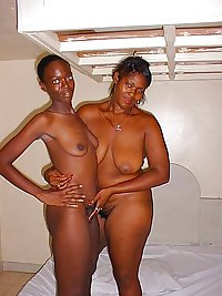 Real African Amateur Women Posing Nude