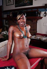Hairy Sexy Ebony Milf