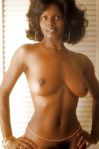 Reminiscent Vintage Retro Cottontail Ebony Natural Tits Bush