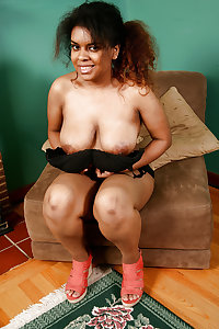 Thick hairy ebony